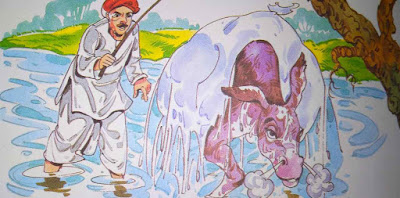 आलसी गधा Latest Hindi Moral Stories For Class 8