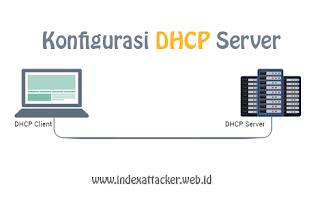 Konfigurasi DHCP server - indexattacker.web.id