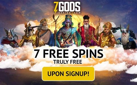 Trò chơi nổi tiếng tại 7 Gods Casino