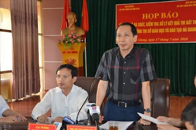 'Lão phật gia' nhờ nâng điểm ở Hà Giang là ai?