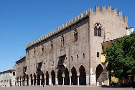 The Palazzo Ducale in Mantua was the seat of the ruling Gonzaga family