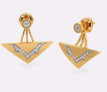 model anting emas tindik
