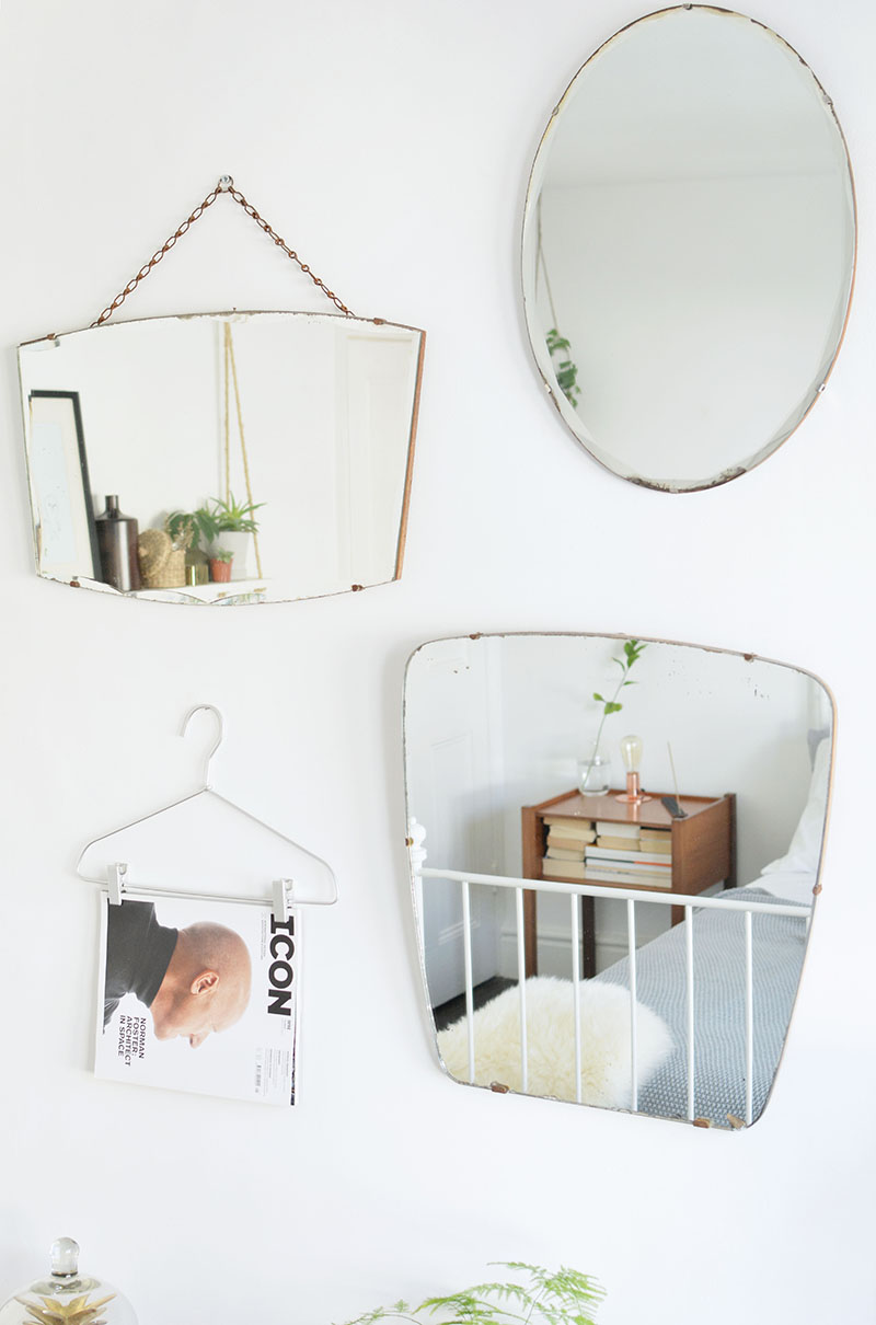 vintage mirror styling