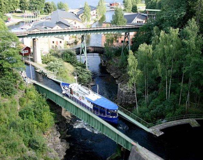 Cầu nước Håverud - Thụy Điển