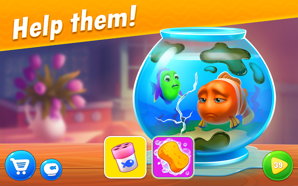 Fishdom MOD APK 4.75.0 [Unlimited Money, Coins, Gold] 3
