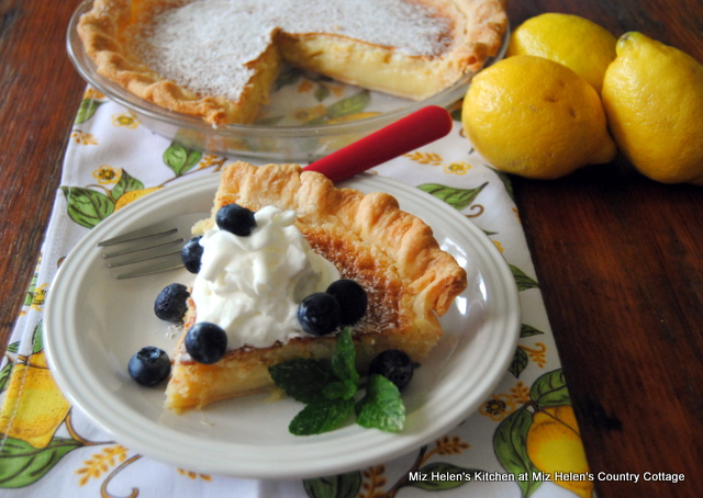 Nana's Lemon Pie at Miz Helen's Country Cottage