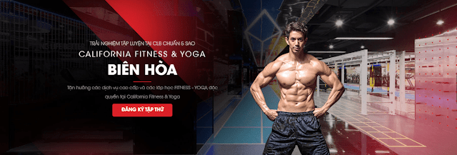 Phòng tập California Gym đang hoạt động tại thành phố Biên Hoà