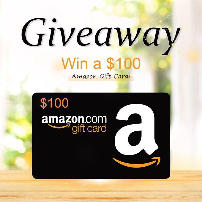 Sorteio Vale Presente de $100 da Amazon