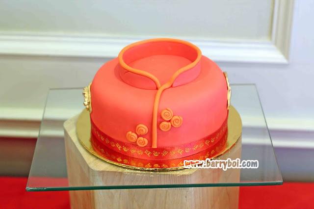 Chinese New Year Cake E&O Hotel Penang Chinese New Year 2021 Penang Malaysia Blogger Influencer Penang Hotel Food