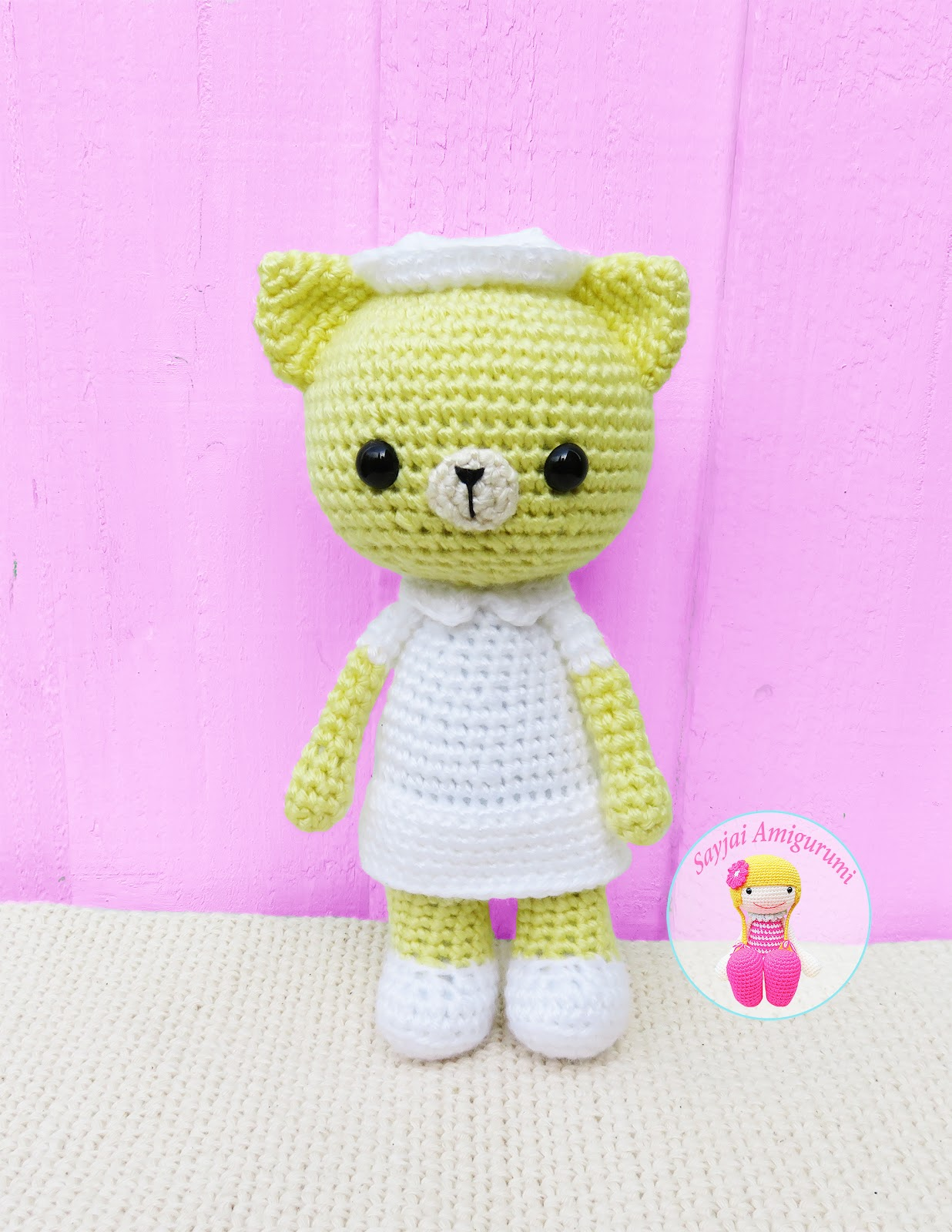 Amigurumi Nurse - PDF WRITTEN PATTERN (digital item) | Muñeca ... | 1600x1236