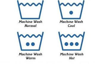Mengenal simbol simbol label laundry dalam perawatan pakaian
