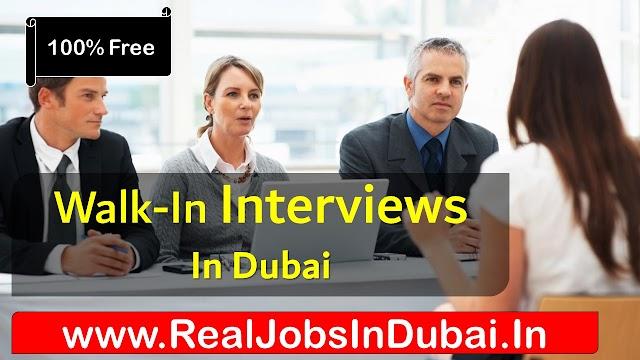 Walk In Interview In Dubai Today & Tomorrow -2020