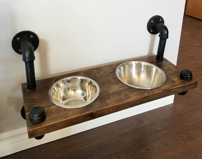 Farmhouse Pet Station