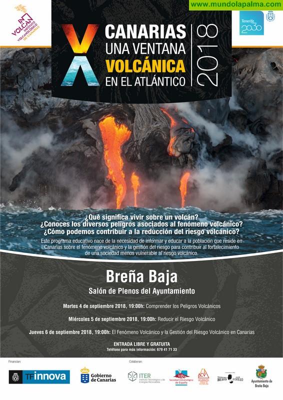 """BREÑA BAJA: X Jornadas """"Canarias, una ventana volcánica en el Atlántico"""""""