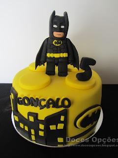 Bolo de aniversário Batman