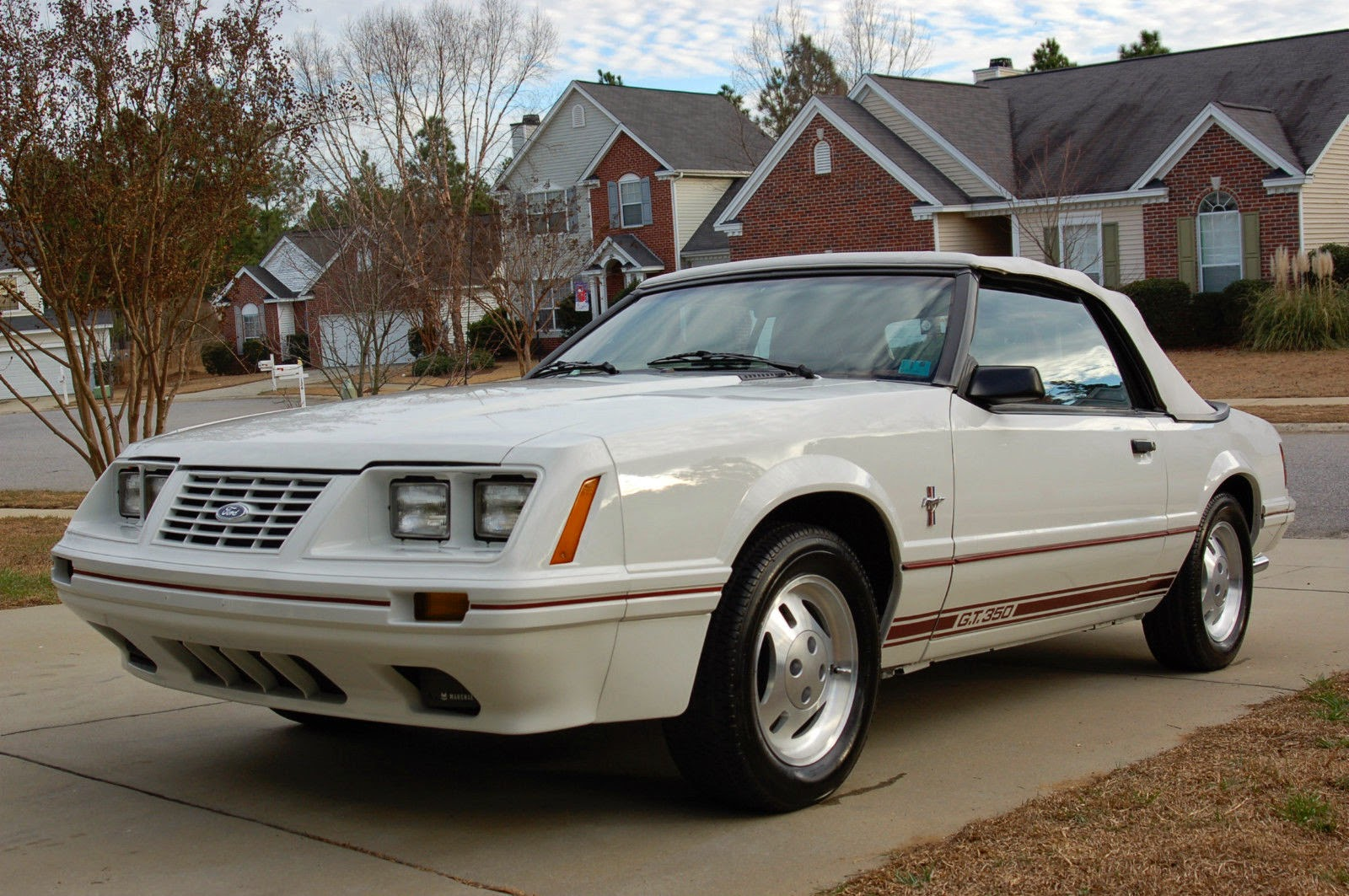 1984 ford mustang gt 350 20th anniversary 2 door convertible