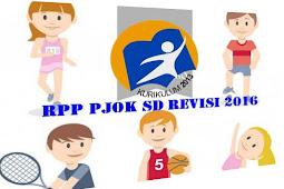 RPP Penjas/PJOK Kurikulum 2013 Revisi Tahun 2016 Kelas 1 Sekolah Dasar