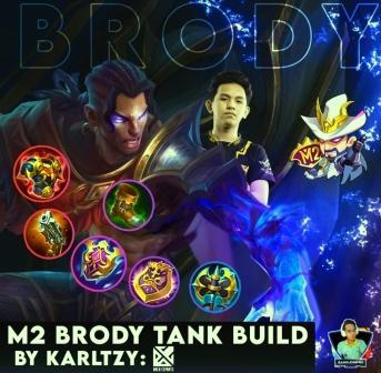 Build Brody tanks in Tournament M2 Mobile Legend