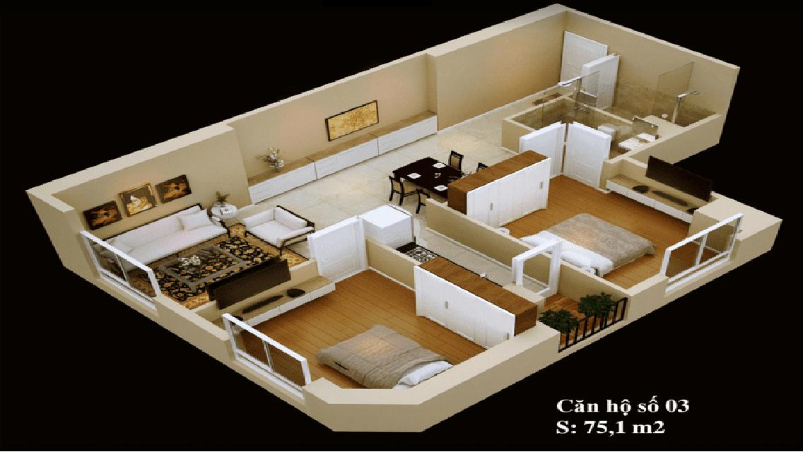 Mặt bằng căn hộ 03