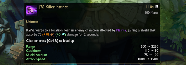 Patch Note 10.11 PBE : TENTATIVE BALANCE CHANGES & CONTINUED VOLIBEAR TESTING 18