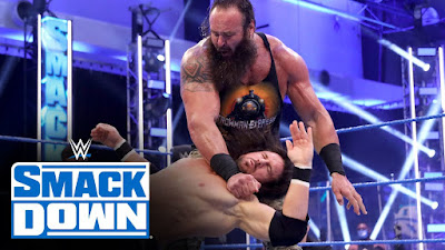 WWE Extreme Rules Miz Morrison Universal Braun Bray Wyatt Swamp Match