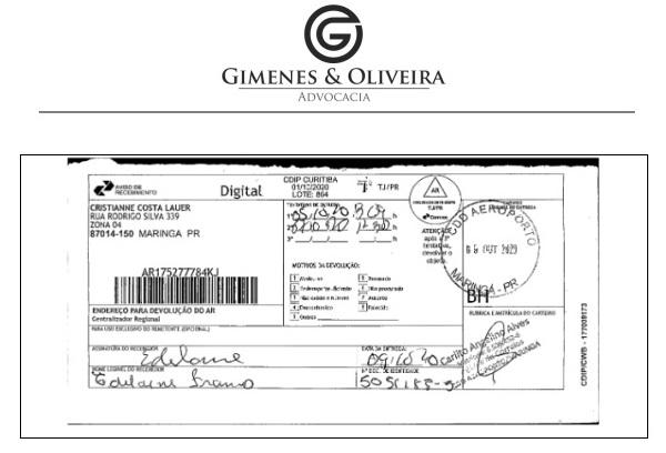 Documento apresentado pela defesa de Cris revela que a ré não assinou a citação