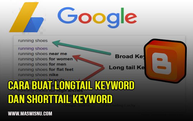 Cara Membuat long Tail Keyword dan short Tail Keyword