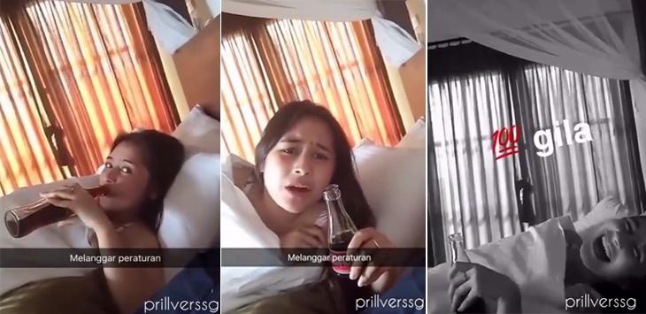 Heboh Video Hot Prilly Latuconsina Tidur Sama Cowok