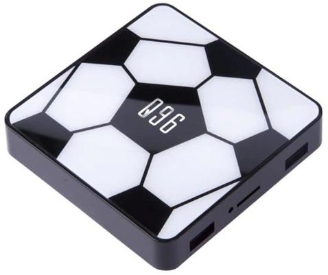 Q96: TV Box 4K  con Android 9.0, HDR 10 y control por voz