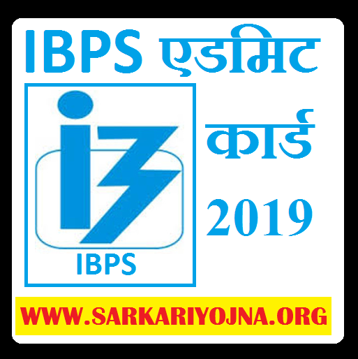 IBPS admit card 2019 RRB officer scale 1 prelim