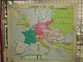 Carte de l'Europe avant 1914
