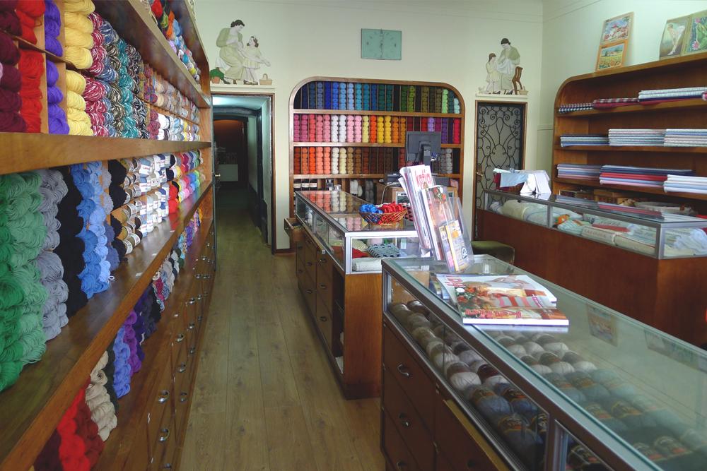 Interior da loja actual