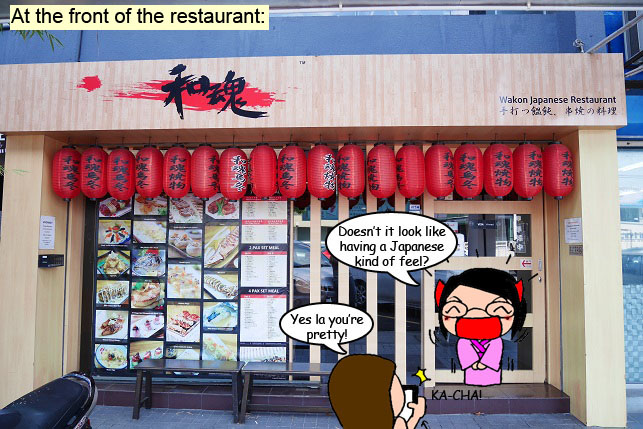 Wakon Japanese Restaurant Front at Damansara Uptown