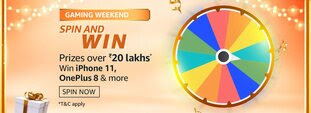 Amazon Gaming Weekend Spin and Win Quiz