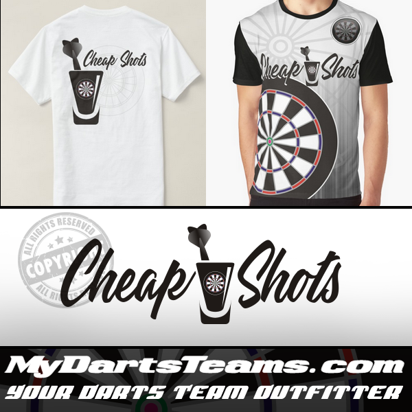Cheap Shots Darts Team ~ Darts Team Logos