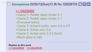 I Can't Believe Its Not Vidya!™: 4chan VS Reddit in Tribes