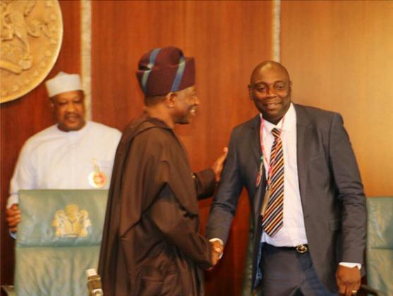 0 Photos: Nollywood Stars Visit President Jonathan At Aso Rock