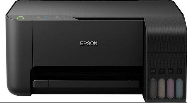 Cara Scan Printer Epson L3110