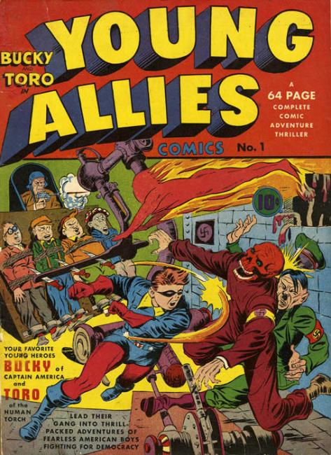 Young Allies Bucky Toro