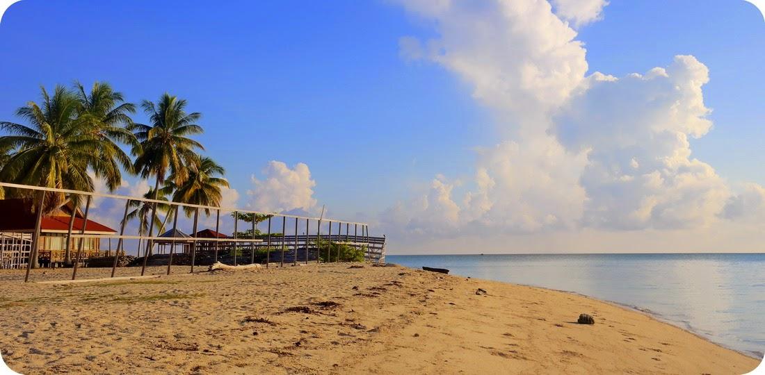Volly Pantai di Derawan