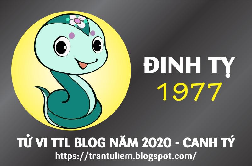 TỬ VI TUỔI ĐINH TỴ 1977 NĂM 2020 ( Canh Tý )