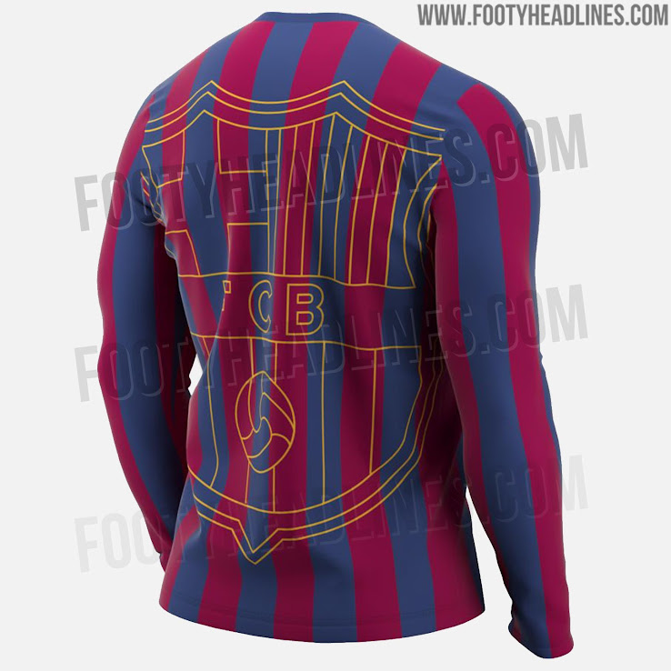 c4441b37ad30 2 of 2. 1 of 2. 2 of 2. 1 of 2. Prototype. The Nike FC Barcelona Long  Sleeve Tee Retro is ...