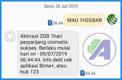 Cara Aktifkan Paket Internet Tri 2.5GB 2000 Terbaru Work  2019