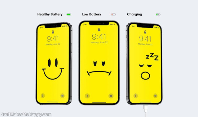 These Wallpapers Change Depending On the Battery of Your Smartphone