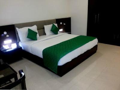 The Palms resort bedroom