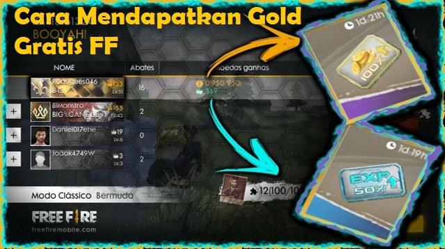Cara Mendapatkan Gold di FF