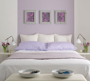 Colores relajantes para pintar dormitorios dormitorios - Pintar pared dormitorio ...