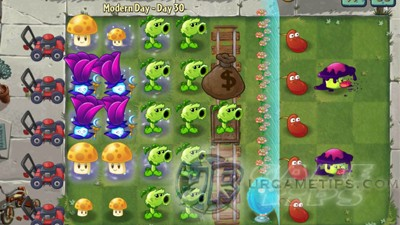 Plants vs Zombies 2 Moder Day - Day 30