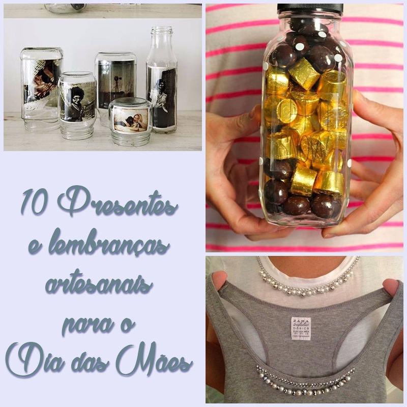 10 Presentes e lembranças artesanais para o Dia das Mães