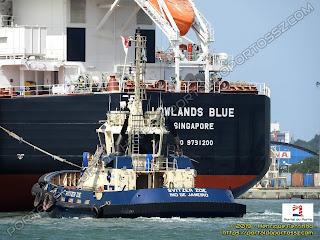 Svitzer Zoe e Lowlands Blue